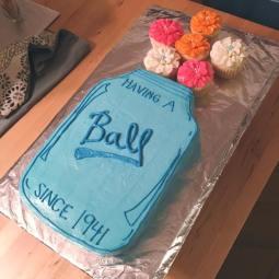 Vanilla pound cake for a sweet Grandma's birthday