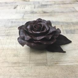 Modeling chocolate flower