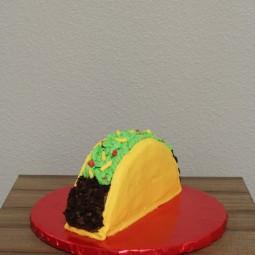 Fun taco smash cake!