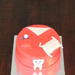 Dentist Graduation Cake