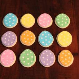 Easter egg cookies!