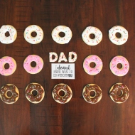 Donut know what I'd do without you Father's Day cookies!