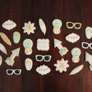 Summer Bride Tribe Bachelorette Cookies!