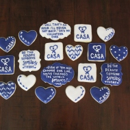 Cookies for the volunteers at CASA of Travis County!