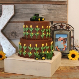 John Deere Groom's Cake!