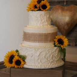 Obsessed with this rustic wedding cake!!!