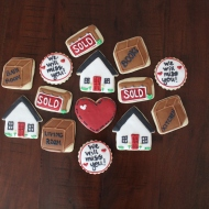 Cookies for a local Buda realtor!