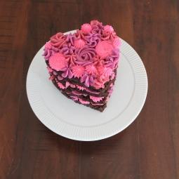 Fun Valentine's Day Cake!