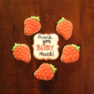 Sweet thank you cookies (pun intended!)