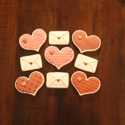 Fun Valentine's Day cookies!